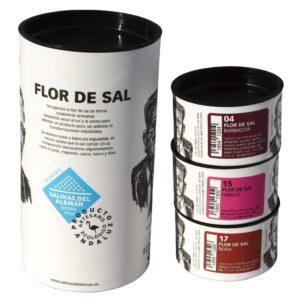 Pack Cartón Flor de Sal 90 gr